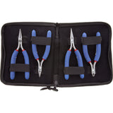 Pliers Set - Tronex Long Handle 711, 731, 744 & 7223 In Case (Long Ergonomic Handles)
