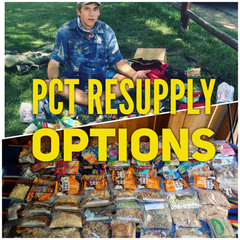 PCT Resupply Pacific Crest Trail Options