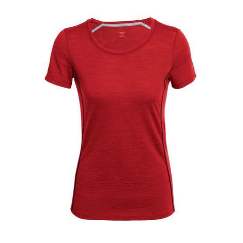 Icebreaker Women's Aero Short Sleeve Crew Top