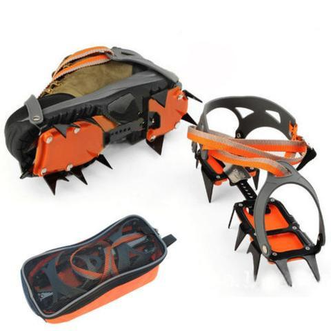 12 Teeth Steel Crampons
