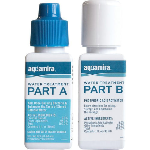Aquamira Water Treatment (2 part)
