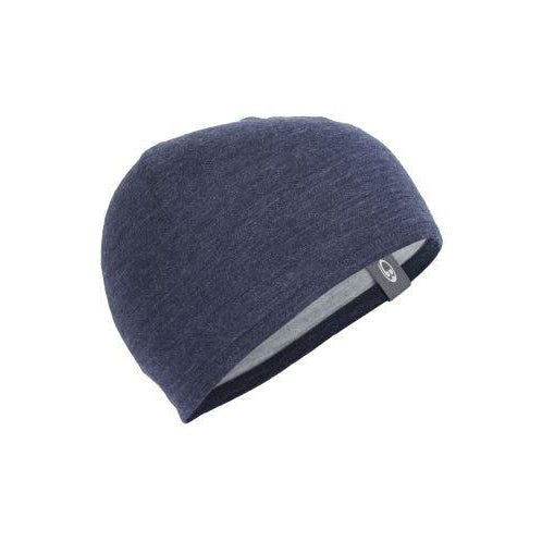 Icebreaker Pocket Hat - OS-Clothing Accessories-Icebreaker-Blue Heather / Navy-2 Foot Adventures