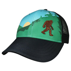 Headsweats Bigfoot Trucker Hat-Clothing Accessories-Amazon-Yeti Sunset-2 Foot Adventures