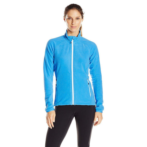 Adidas Outdoor Women's Hiking Reachout Fleece Jacket - (Ray Blue)