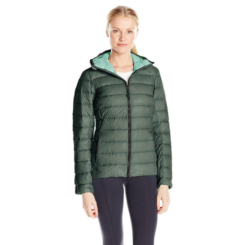 Adidas Outdoor Women's Light Down Hooded Jacket - CLEARANCE
