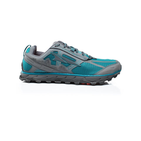 Altra Lone Peak 4 Mens Blue Greenfall Teal Trail Running Shoe