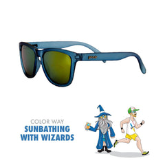 Goodr Running Sun Glasses-Clothing Accessories-Goodr-Sunbathing w/ Wizards-2 Foot Adventures