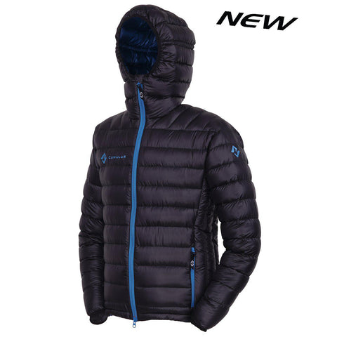 "Cumulus ""Incredilite' Mens Polish Down Jacket w/ Hood"
