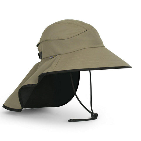 Sunday Afternoons Derma Safe Hat-Clothing Accessories-Sunday Afternoons-Medium-Sand-Black-2 Foot Adventures