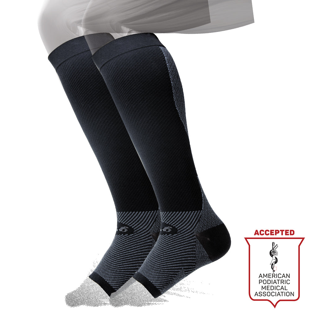 OS1st FS6 Sports Compression Foot + Calf Sleeve (PAIR)