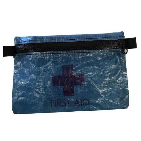 LiteAF First Aid Zipper Pouch - Blue