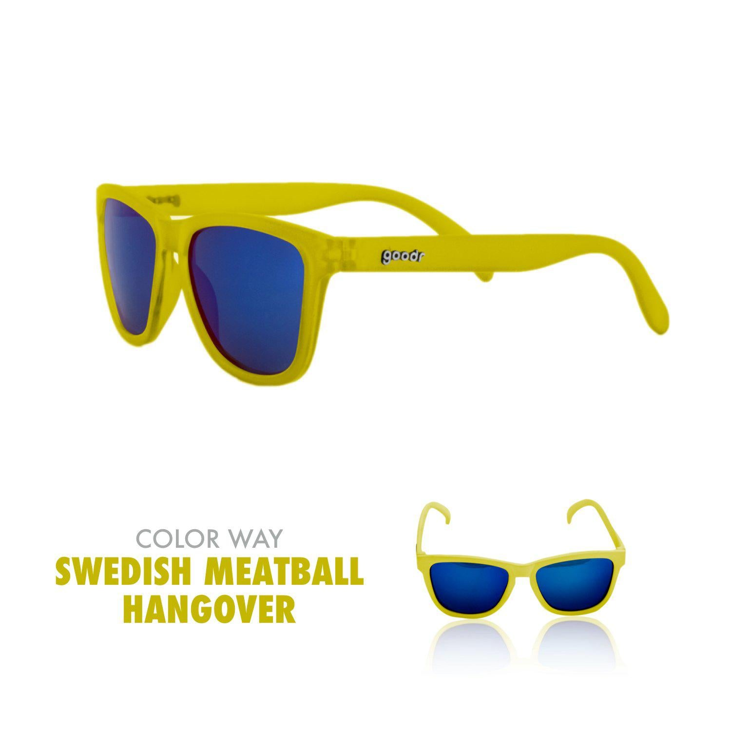 Goodr Running Sun Glasses-Clothing Accessories-Goodr-Swedish Meatball Hangover-2 Foot Adventures