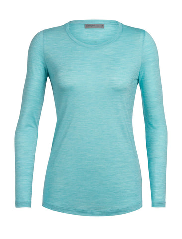 Icebreaker Women's Cool-Lite™ Sphere Long Sleeve Low Crew