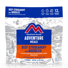 MOUNTAIN HOUSE ADVENTURE MEAL BEEF STROGANOFF w/ NOODLES