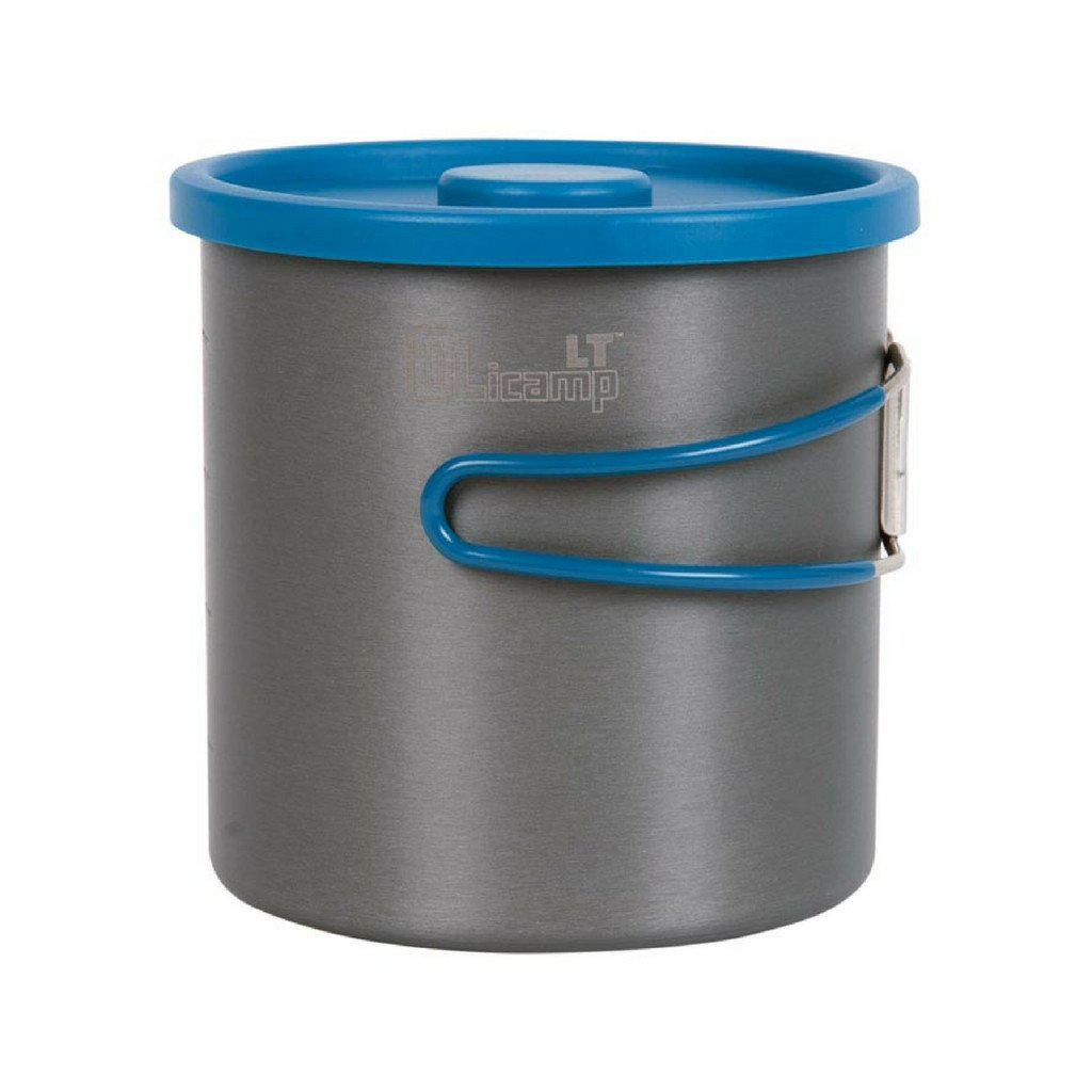 Olicamp 1L Hard Anodised Aluminum Pot