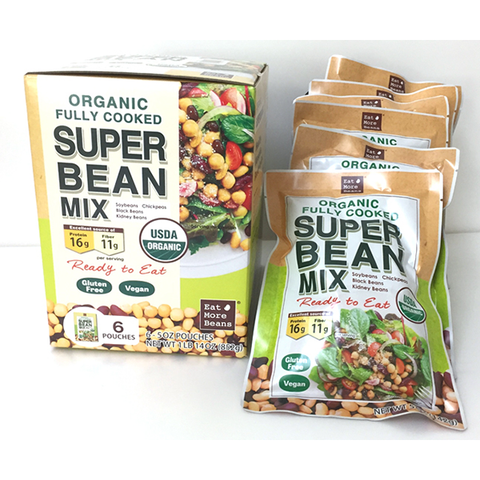 Organic Fully Cooked Super Bean Mix