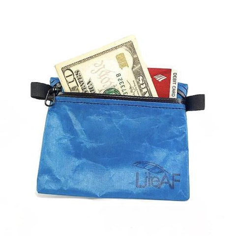 LiteAF Zipper Pouch Small - aka Hiker Wallet