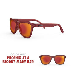 Goodr Running Sun Glasses-Clothing Accessories-Goodr-Phoenix at a Bloody Mary Bar-2 Foot Adventures