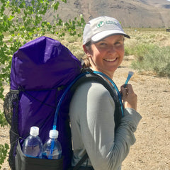 SmartWater Bottle Drink Tube Kit is perfect for PCT Backpackers and thruhikers