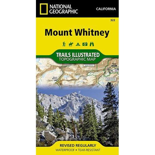 National Geographic Trails Map: Mt. Whitney