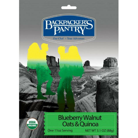 Backpacker's Pantry Organic Blueberry Walnuts Oats & Quinoa