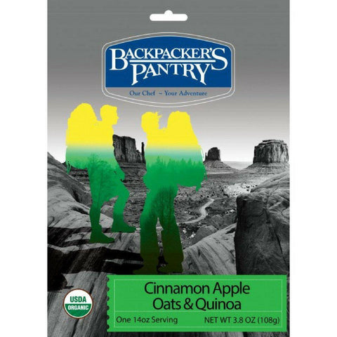 Backpacker's Pantry Organic Cinnamon Apple Oats & Quinoa
