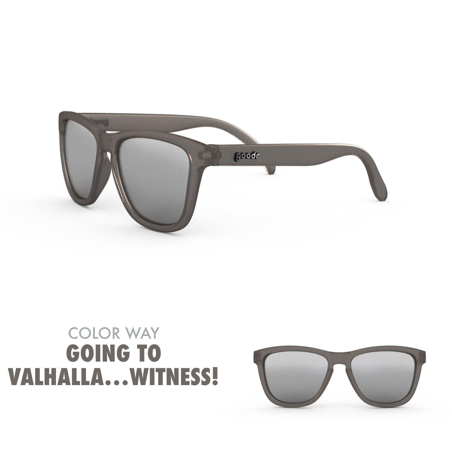 Goodr Running Sun Glasses-Clothing Accessories-Goodr-Going to Valhalla... Witness-2 Foot Adventures