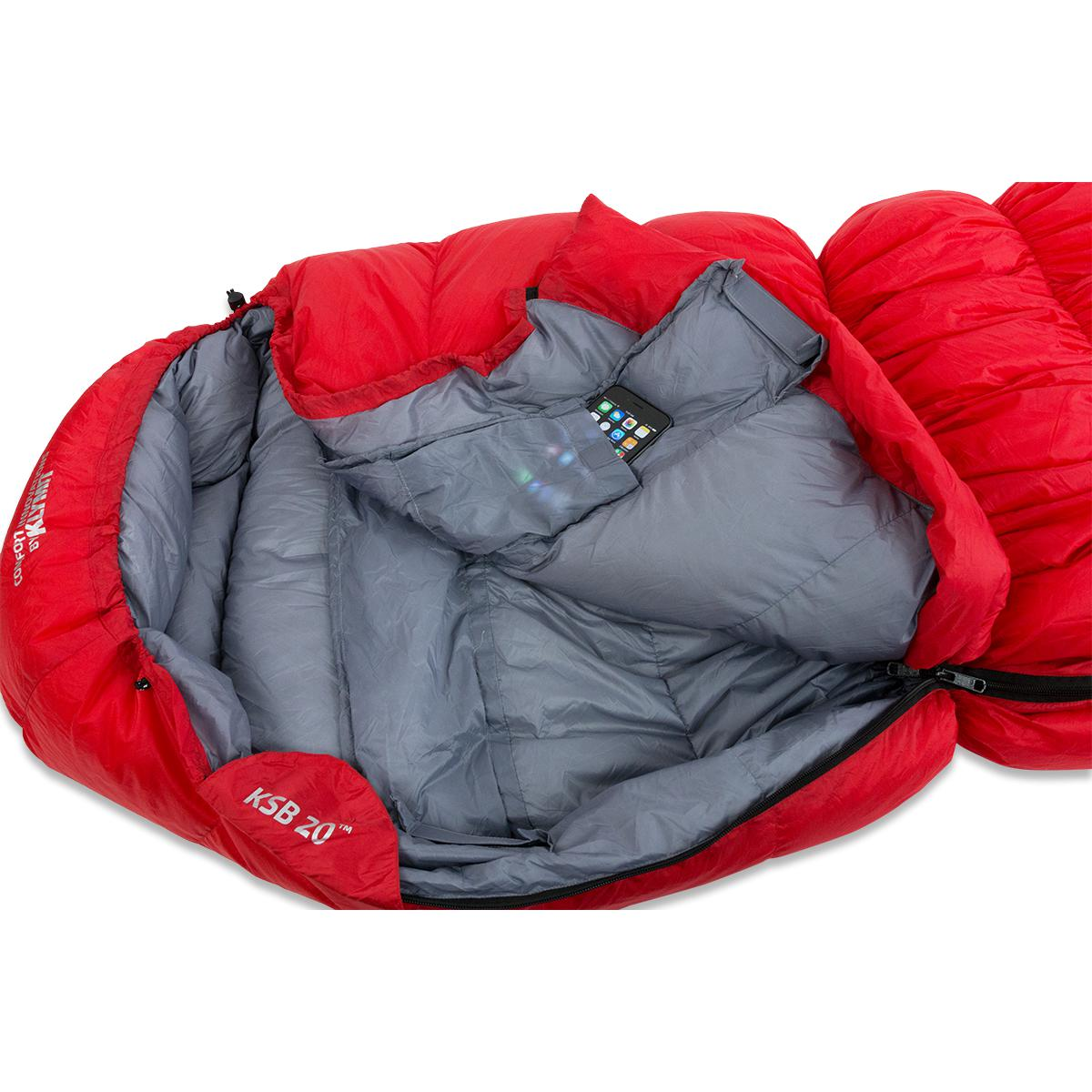 Klymit KSB 20 Down Sleeping Bag-Liberty Mountain-2 Foot Adventures