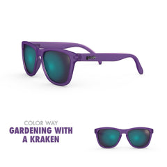 Goodr Running Sun Glasses-Clothing Accessories-Goodr-Gardening w/ Kraken-2 Foot Adventures