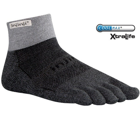 Injinji Trail Midweight Mini-Crew Sock