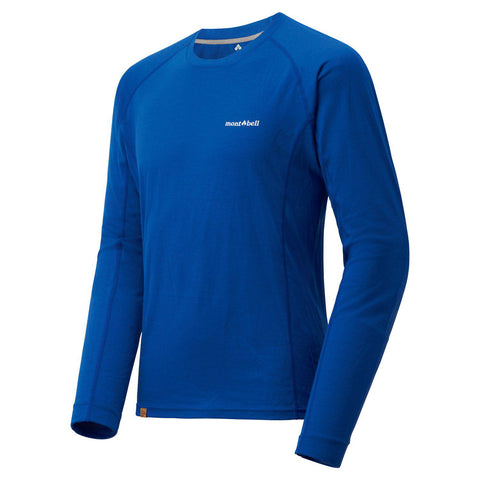 Montbell Men's Merino Wool Plus Light Long Sleeve T