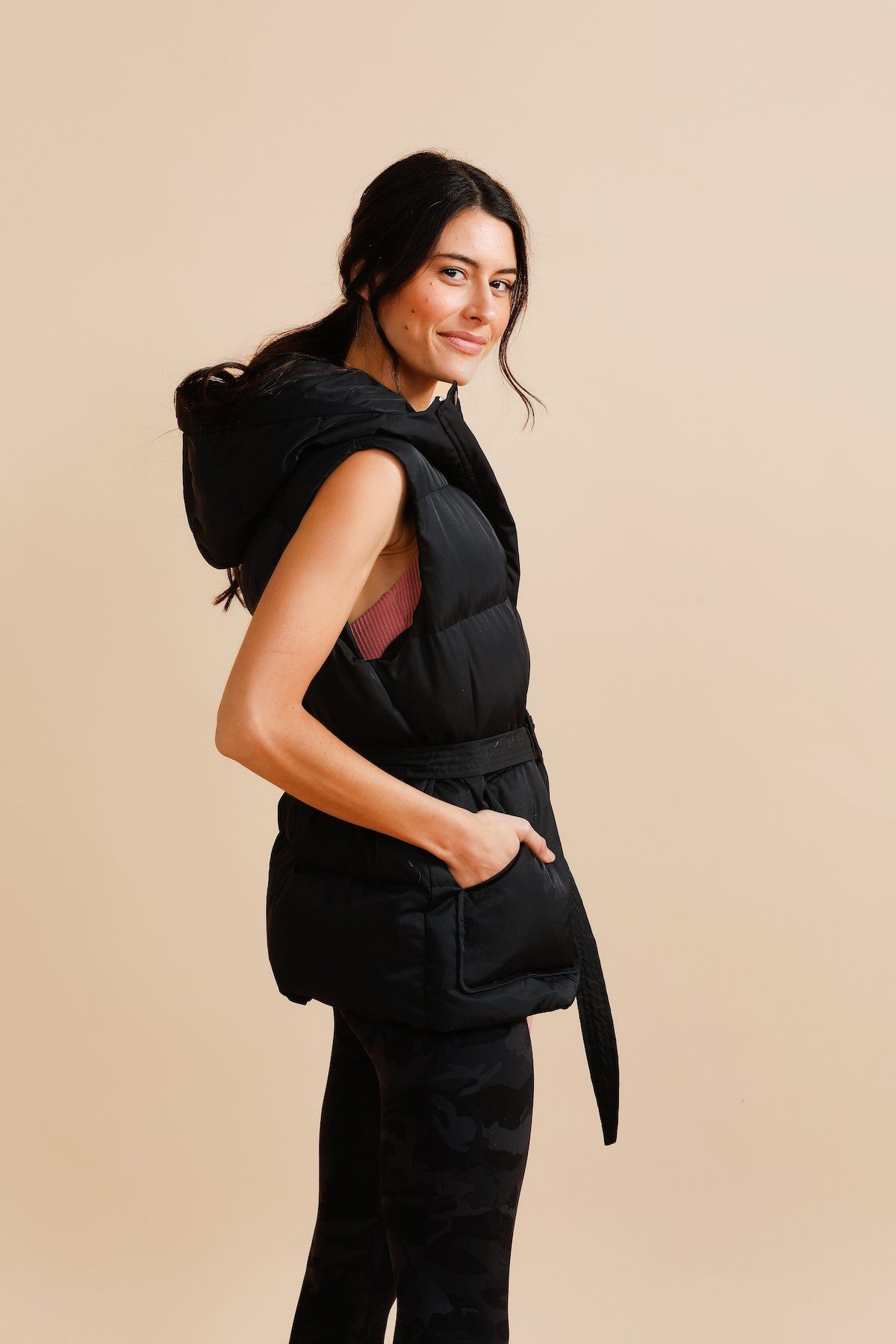 Aries Puffer Vest - Black *Sold Out