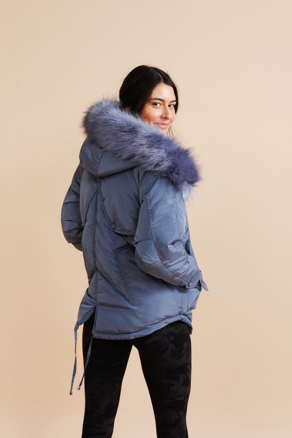Gemini Puffer - Blue *Sold Out