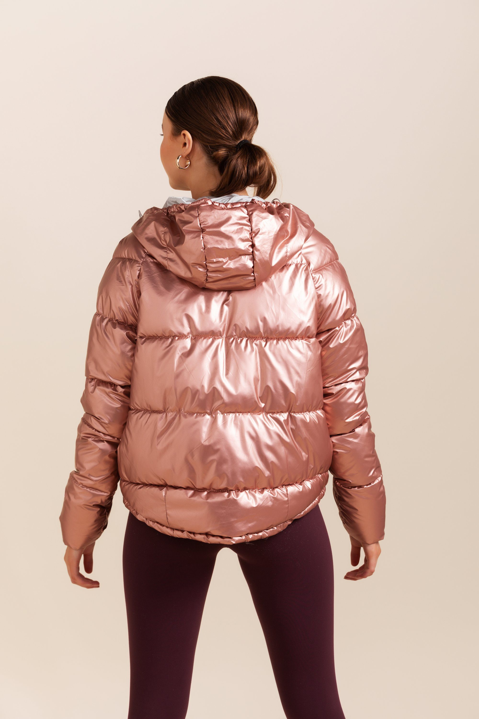 Luna Puffer - Rose Gold *IN STOCK