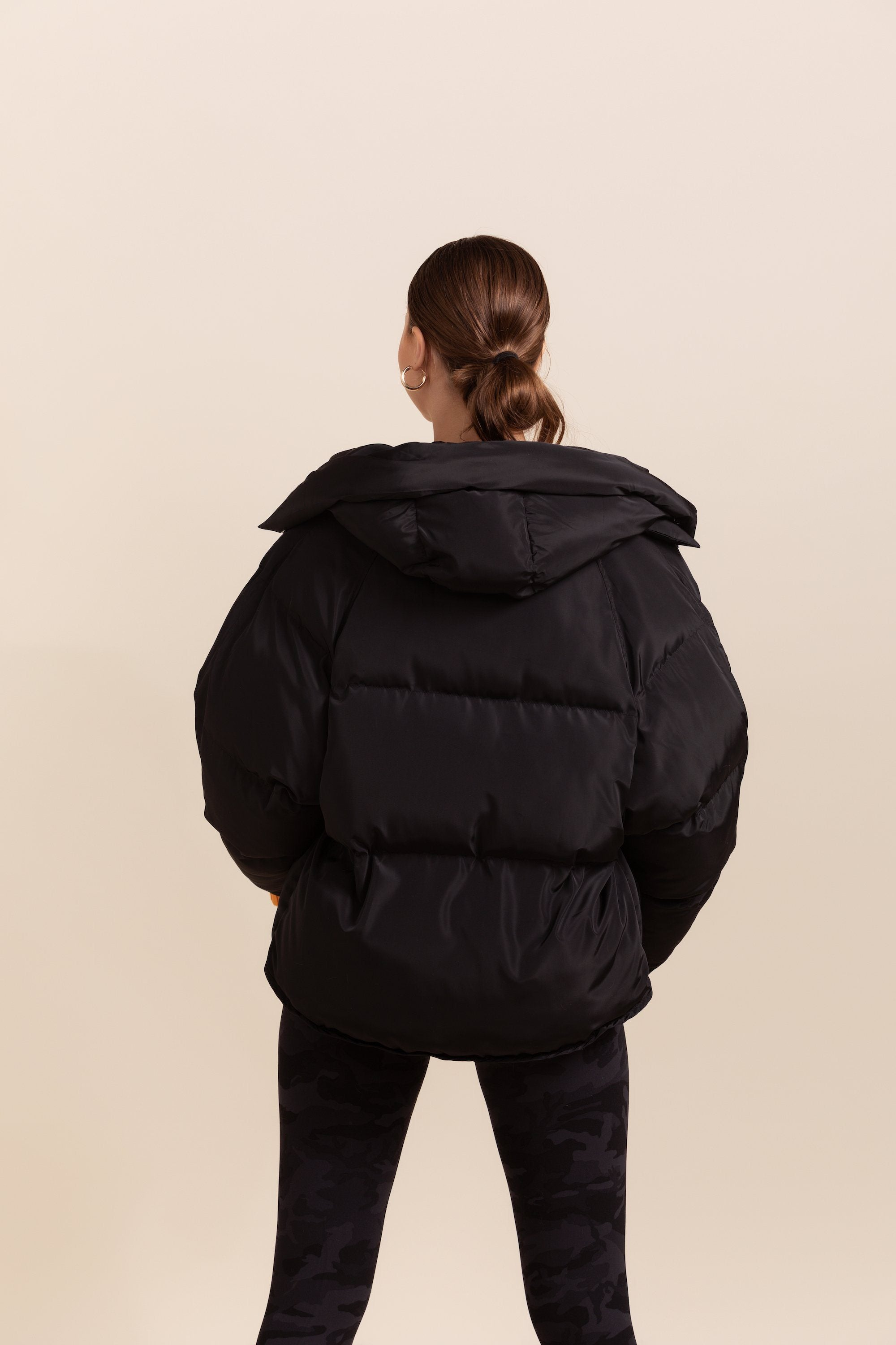 Pluto Puffer Jacket - Black *IN STOCK