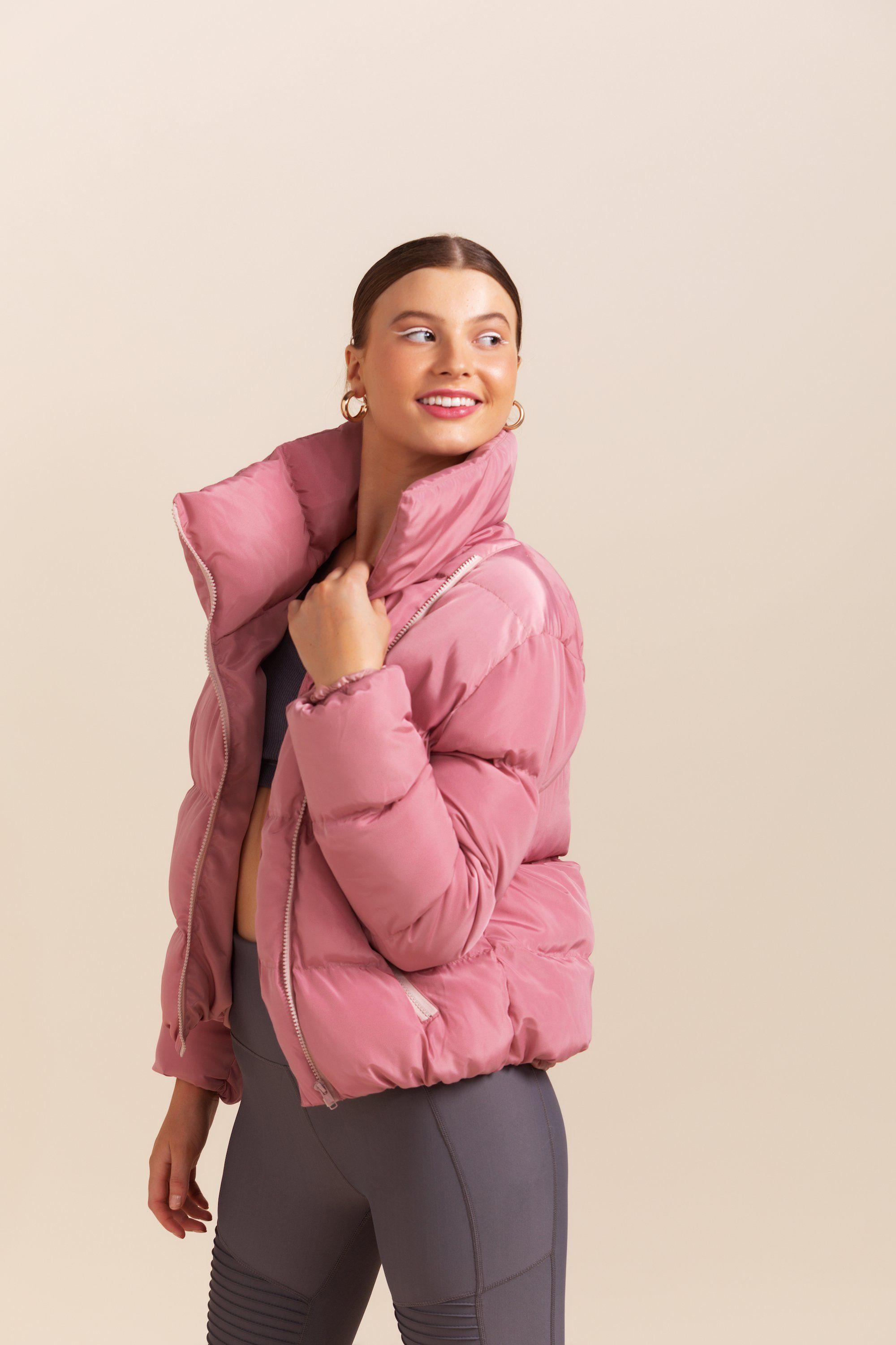 Jupiter Puffer Jacket - Dusty Pink *Pre-order