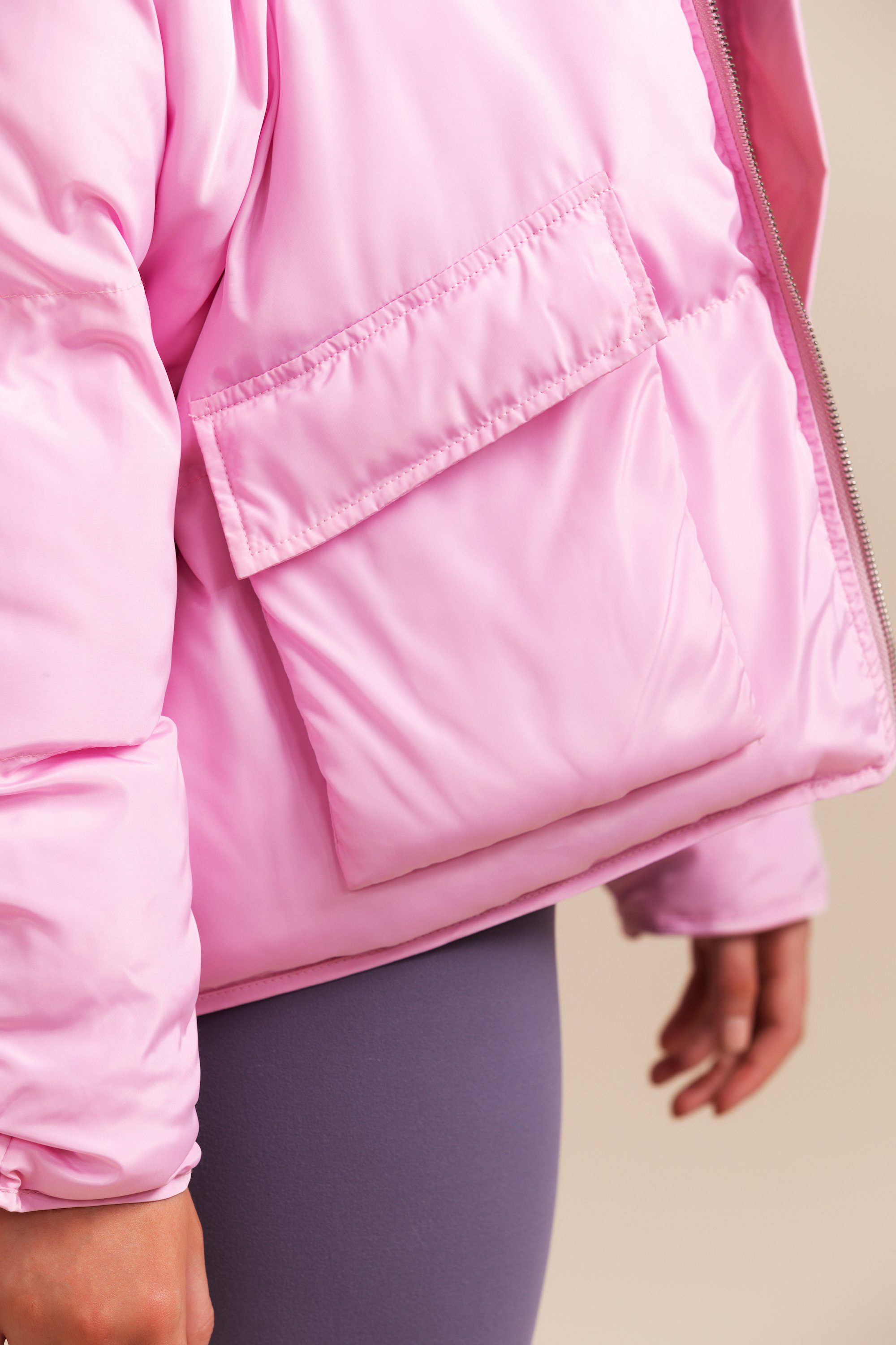 Pluto Puffer Jacket - Lilac * SOLD OUT Short Jacket Toast Society