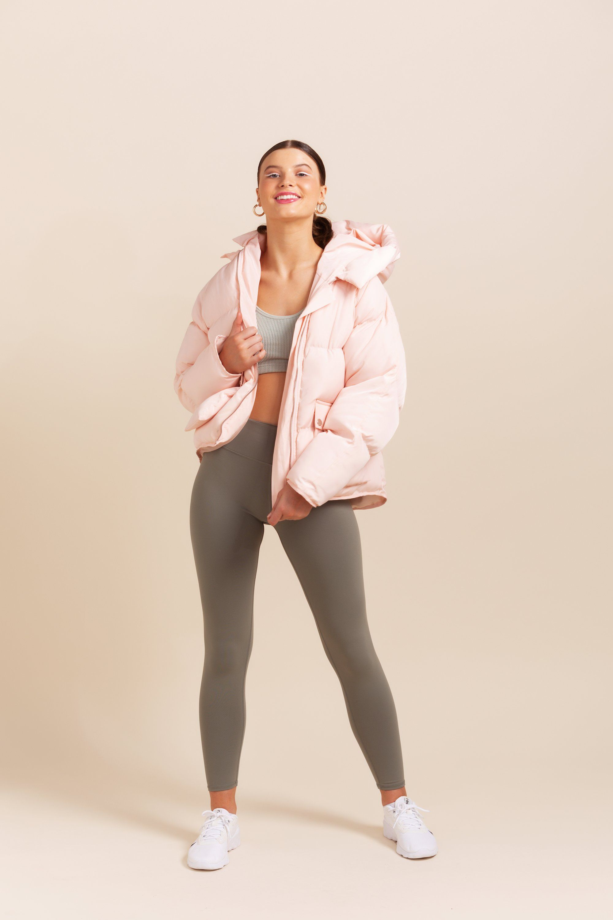 Pluto Puffer Jacket - Light Pink *IN STOCK