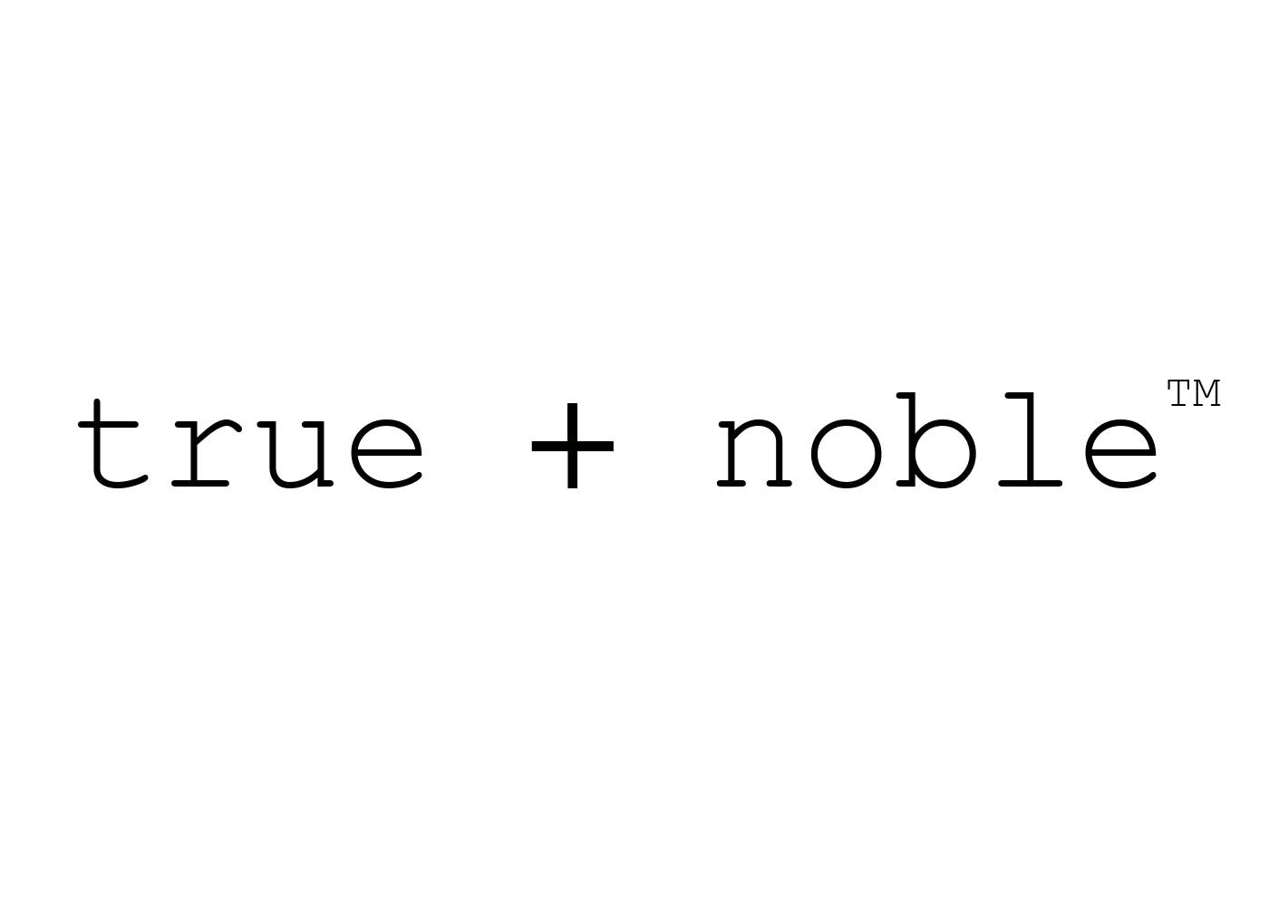 true + noble apparel