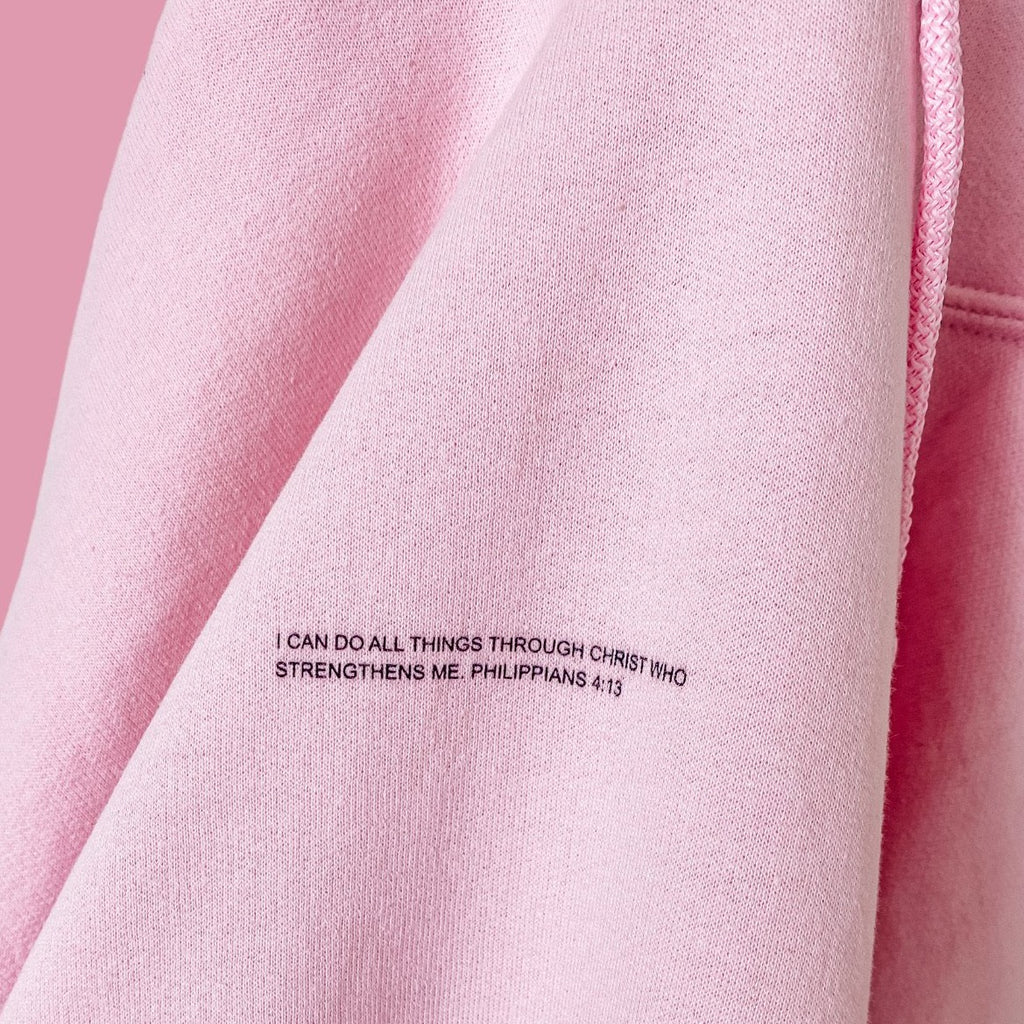 Customizable Favorite Verse Hoodie