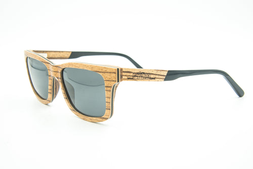 Shades on Point - The North Shore - Wooden Polarized Sunglasses - 1