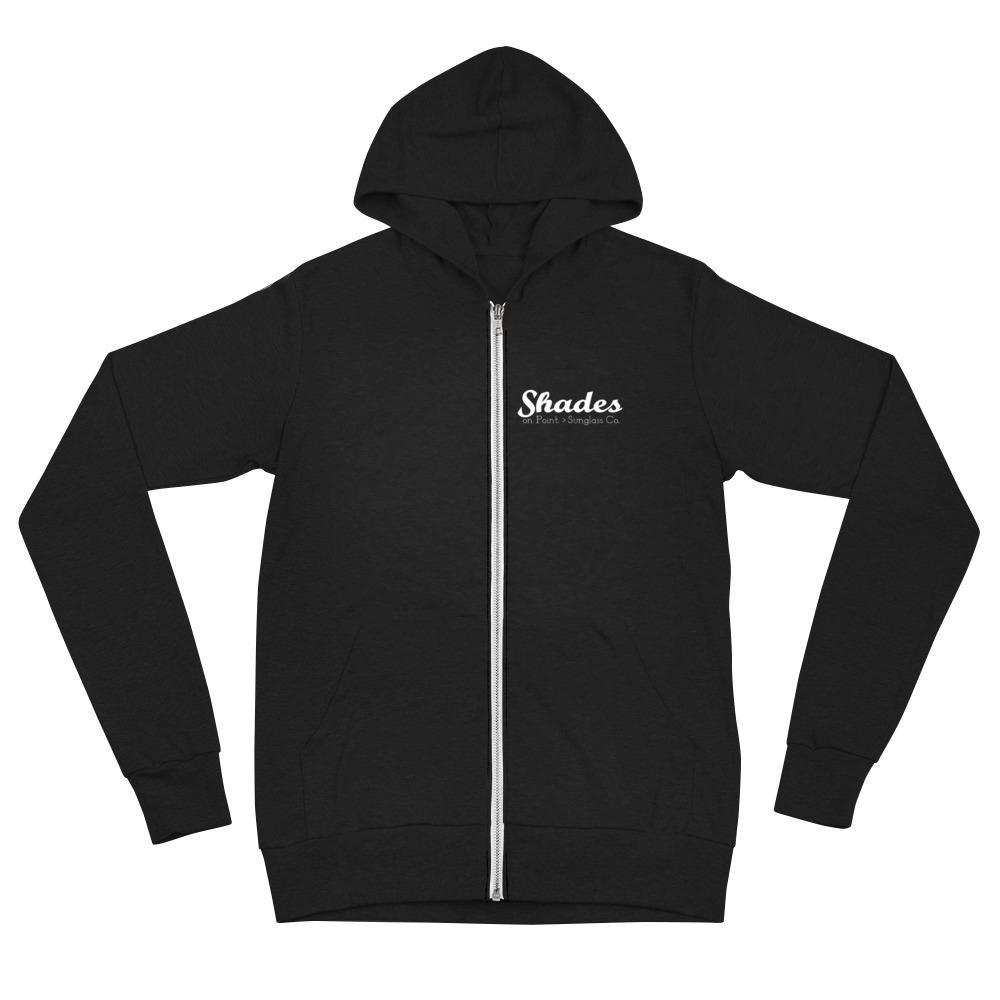 The Shades Unisex Zip Hoodie