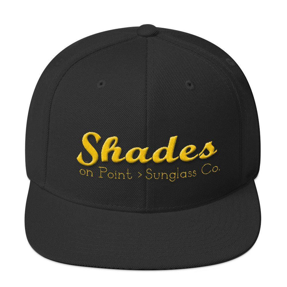 The Shades Burgh Edition Wool Blend Snapback-Hats-Shades on Point