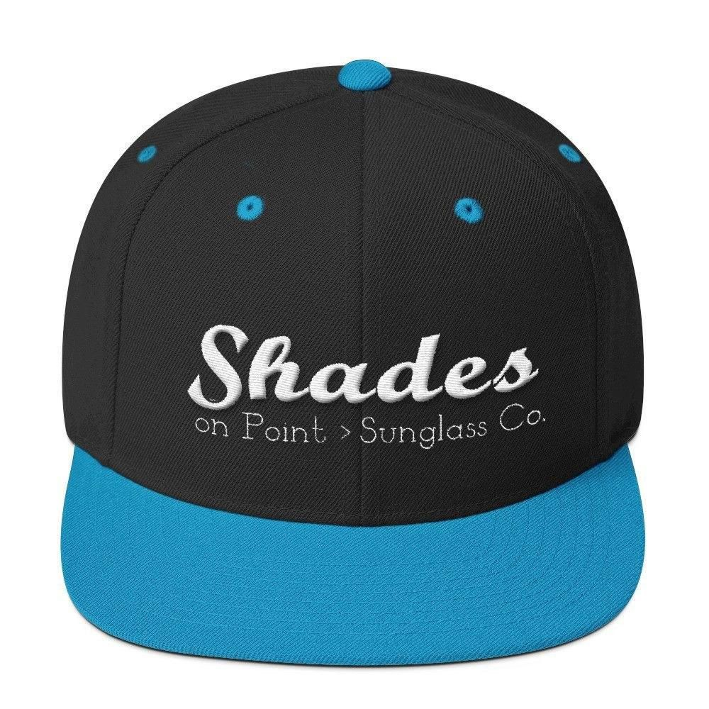 The Shades Wool Blend Snapback-Hats-Shades on Point