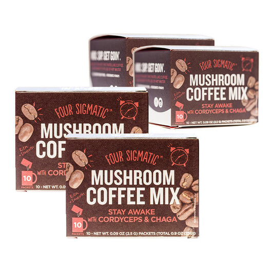 4-PACK: MUSHROOM COFFEE WITH CORDYCEPS