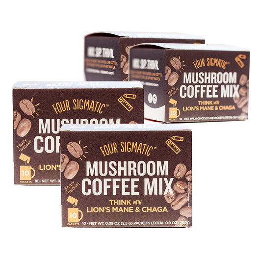 4-PACK: MUSHROOM COFFEE WITH LION'S MANE