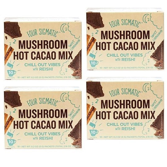 4-PACK: MUSHROOM HOT CACAO WITH REISHI