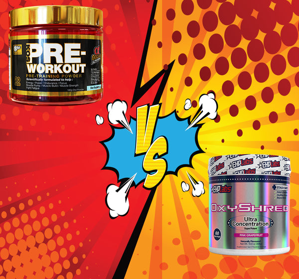 Pre Workout VS Fat Burner Thermogenic