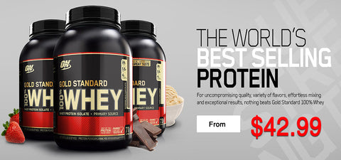 Gold Standard Whey Sk Nutrition