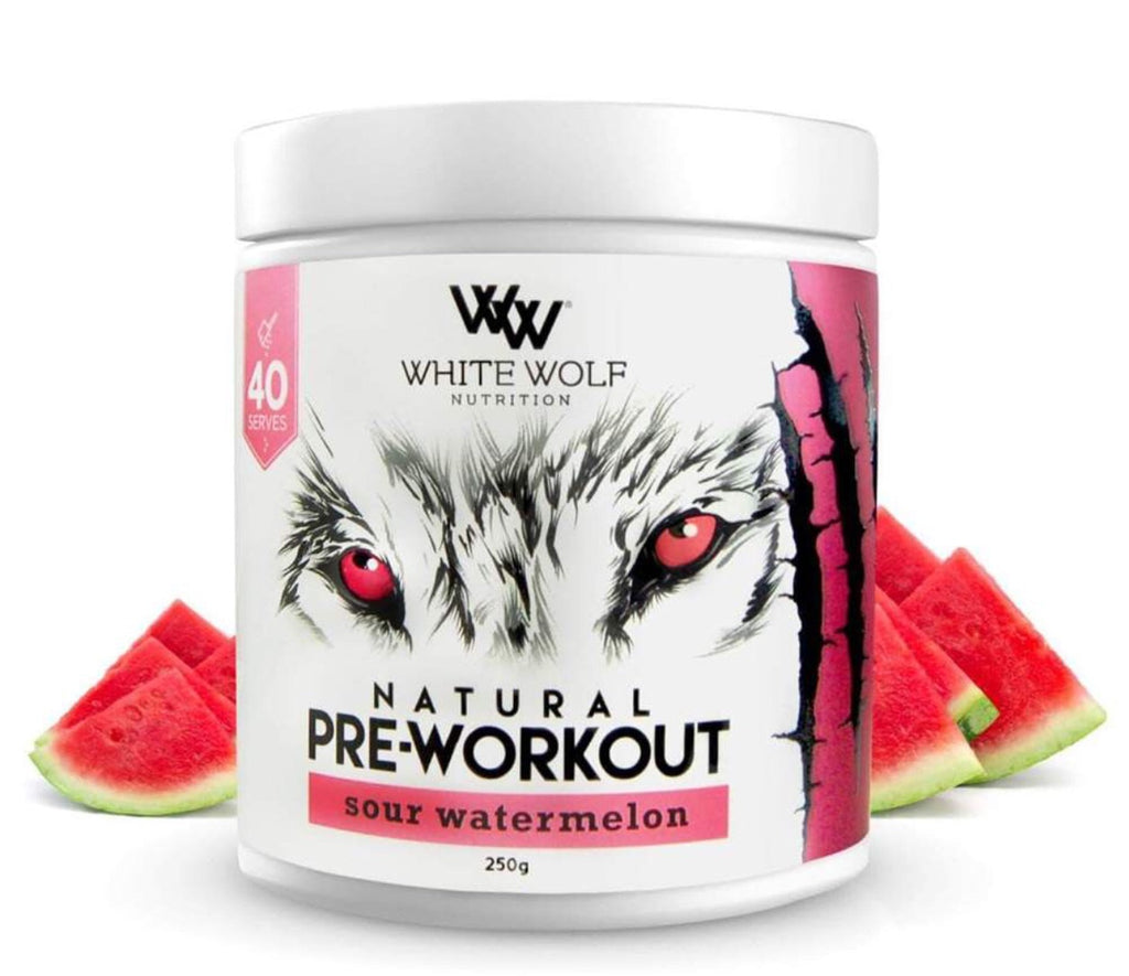 Natural Pre Workout - White Wolf